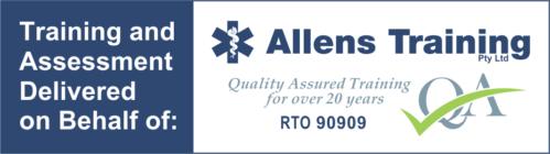 Allens Training courses